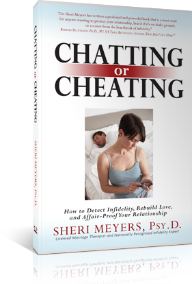 is chatting online cheating